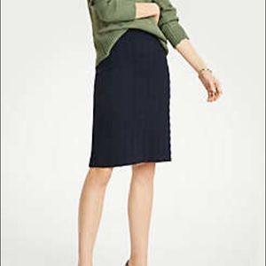 Ann Taylor Italian Tweed Skirt